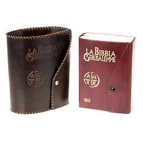 Leather slipcase for Bible of Jerusalem large size s3