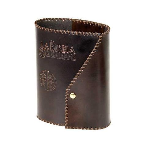 Leather slipcase for Bible of Jerusalem large size 1