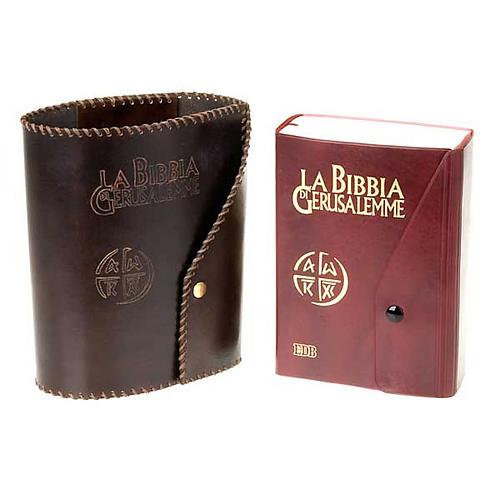 Leather slipcase for Bible of Jerusalem large size 3