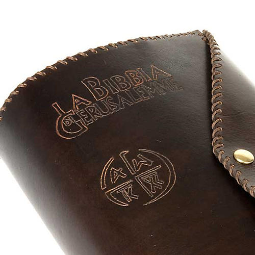 Leather slipcase for Bible of Jerusalem large size 4