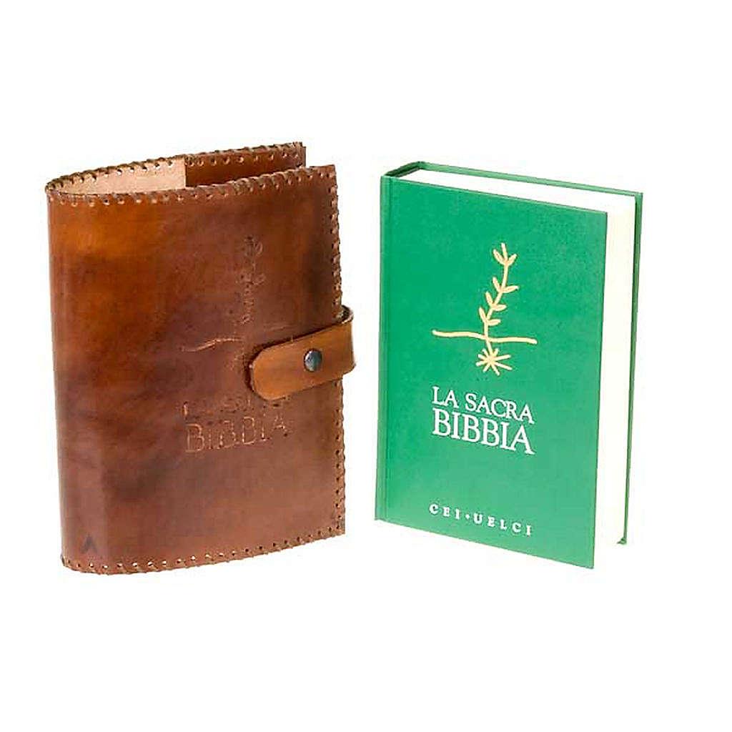 Copri Bibbia cuoio Cei Uelci 2009 4