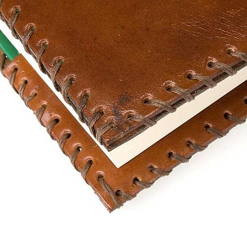 Copri Bibbia cuoio Cei Uelci 2009 3