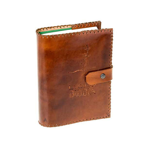 Leather slipcase for CEI-UELCI Bible 1