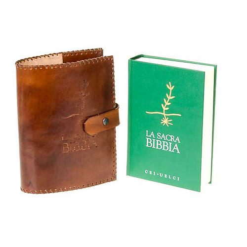 Leather slipcase for CEI-UELCI Bible 5