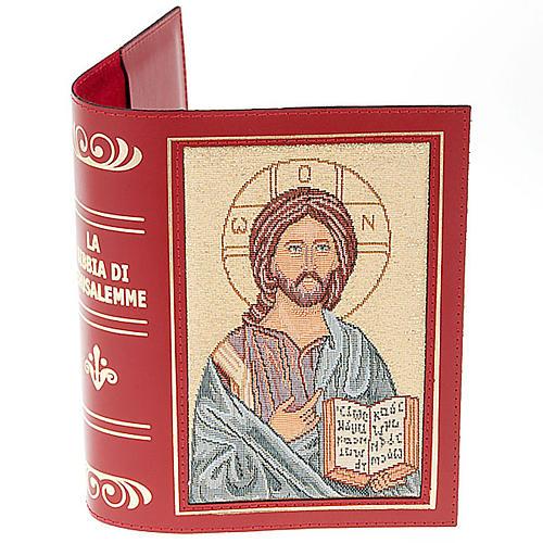 Custodia Bibbia Pantocratore ricamato 3
