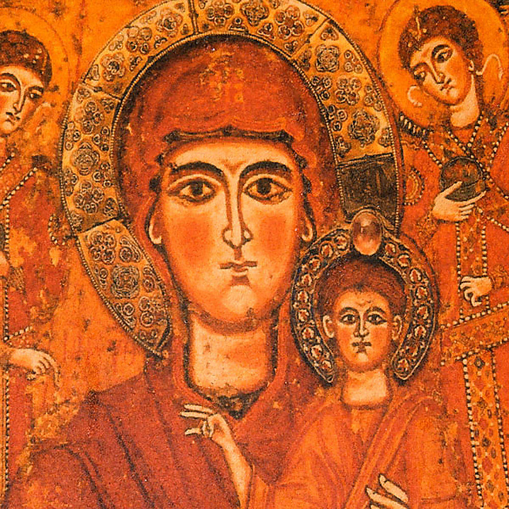 Copertina Bibbia vera pelle Madre di Dio Odigitria 4
