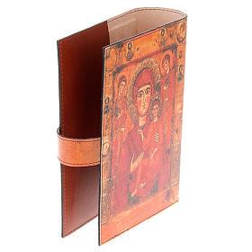Copertina Bibbia vera pelle Madre di Dio Odigitria s4