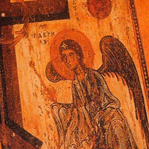 Custodia Bibbia vera pelle icona angeli 2