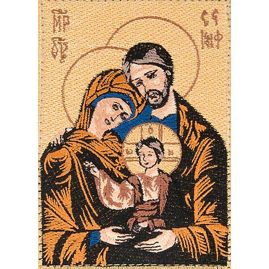 Custodia Bibbia di Gerusalemme immagine Sacra Famiglia 4