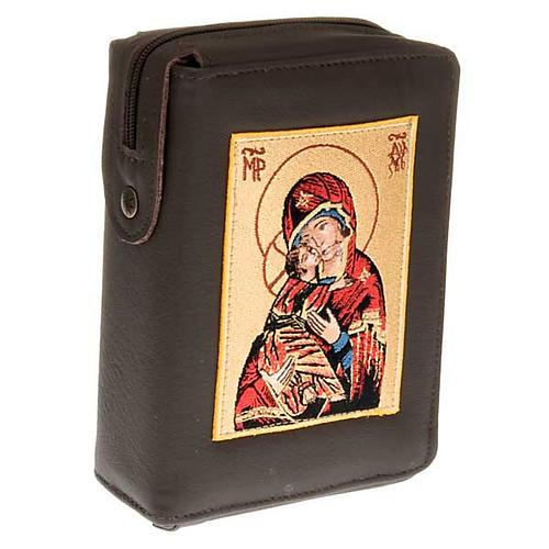 Custodia Bibbia di Gerusalemme immagine Madonna di Vladimir 1