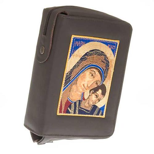 Copri bibbia Gerusalemme Madonna con bimbo primo piano 1
