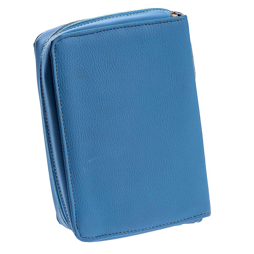 Copertina Bibbia Gerusalemme azzurro SS. Trinità 4