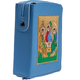 Copertina Bibbia Gerusalemme azzurro SS. Trinità s2