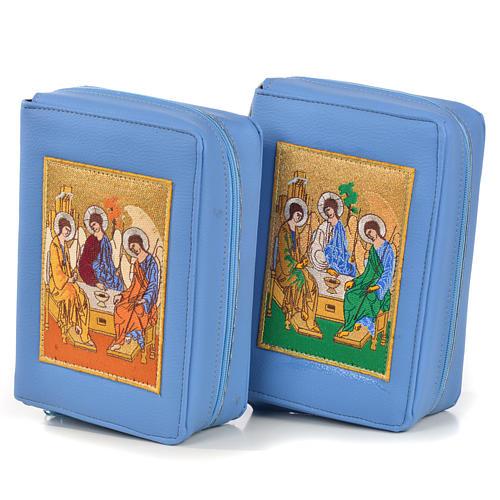 Copertina Bibbia Gerusalemme azzurro SS. Trinità 1