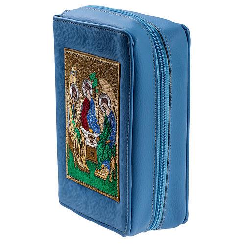 Copertina Bibbia Gerusalemme azzurro SS. Trinità 3