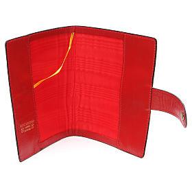 Custodia Bibbia Gerusalemme tascabile rossa s5
