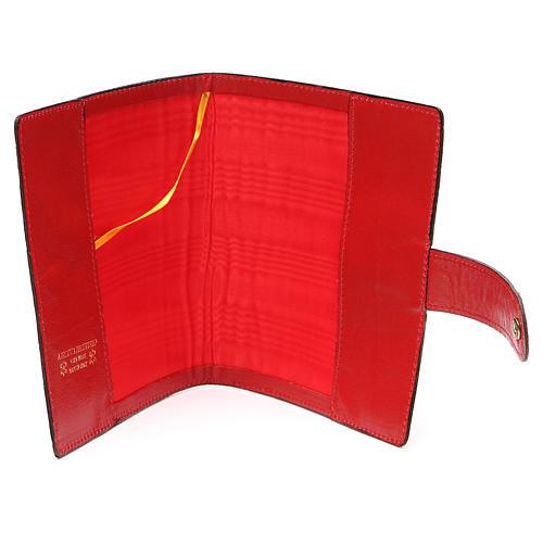 Custodia Bibbia Gerusalemme tascabile rossa 5