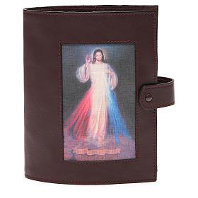 Couverture Bible Jérusalem brun foncé Christ Miséricordieux s1