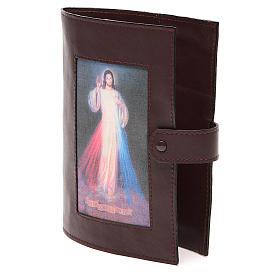 Couverture Bible Jérusalem brun foncé Christ Miséricordieux s2