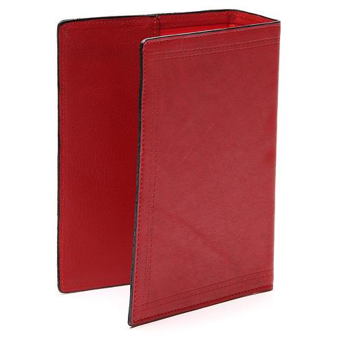 Copertina Bibbia Gerusalemme pelle rossa Ancora Salvezza 3