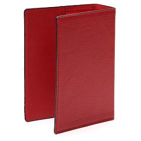 Copertina Bibbia Gerus. pelle rossa Ancora della Salvezza s3