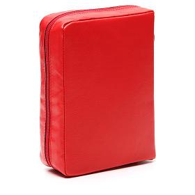 Custodia Bibbia Gerusalemme rossa Mad. Kiko zip s3
