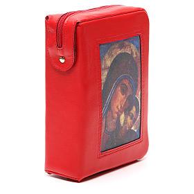 Custodia Bibbia Gerusalemme rossa Mad. Kiko zip s4