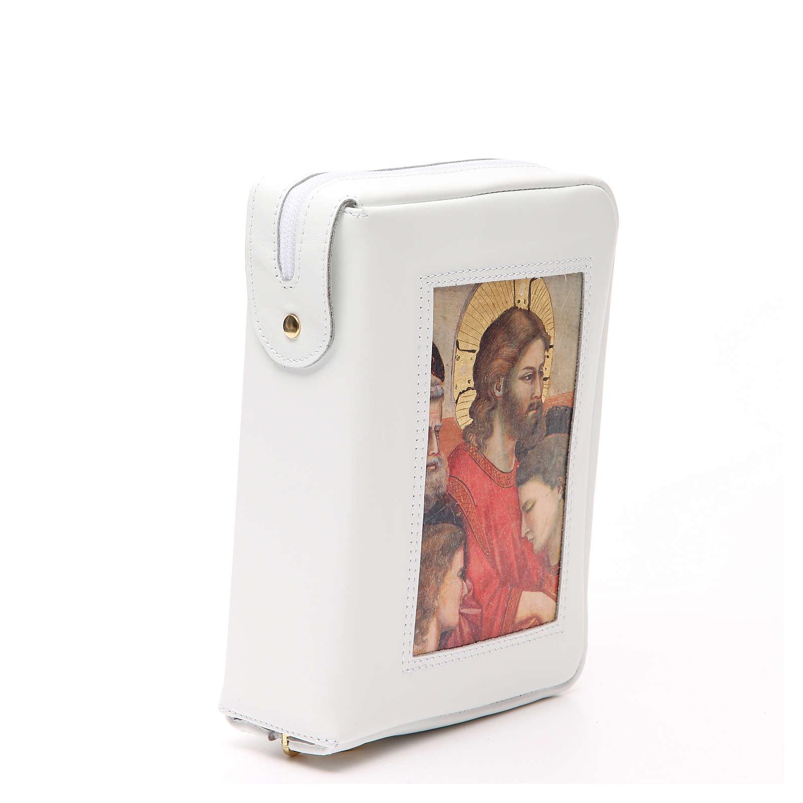 Cust. Bibbia Gerus. Ultima Cena Giotto bianca Pictografia 4