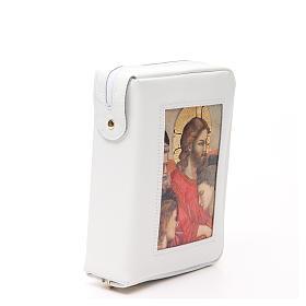 Cust. Bibbia Gerus. Ultima Cena Giotto bianca Pictografia s4
