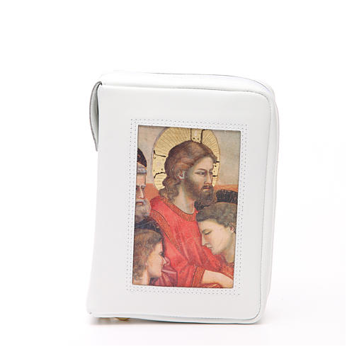 Cust. Bibbia Gerus. Ultima Cena Giotto bianca Pictografia 1