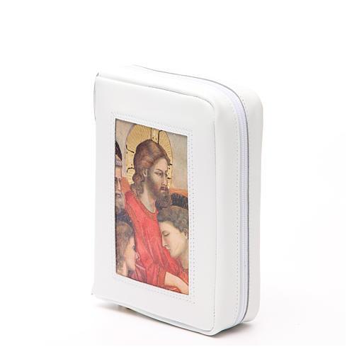 Cust. Bibbia Gerus. Ultima Cena Giotto bianca Pictografia 2
