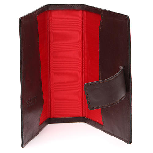 Custodia Bibbia Ger. magnetica S. Fam. metallo t. di moro 5