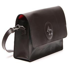Sacoche cuir pour Bible (universelle) avec bandoulière s4