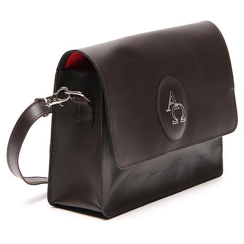 Sacoche cuir pour Bible (universelle) avec bandoulière 4