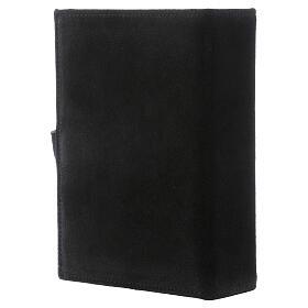 Copertina Bibbia Gerusalemme pelle scamosciata nero s3