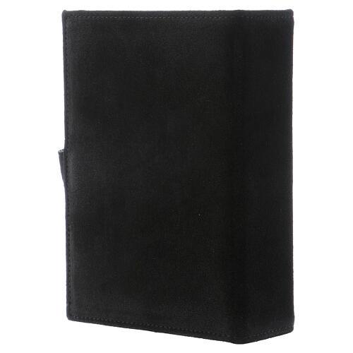 Copertina Bibbia Gerusalemme pelle scamosciata nero 3