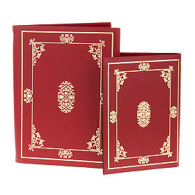 Folder for Sacred Rites in Red Leather s1