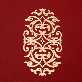 Folder for sacred rites in red leather s2