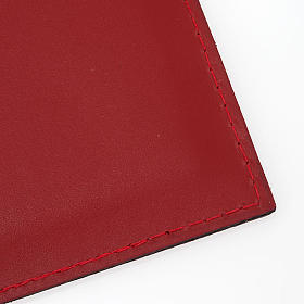 Folder for sacred rites in red leather s3