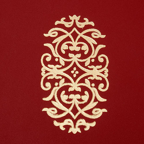 Folder for Sacred Rites in Red Leather 2