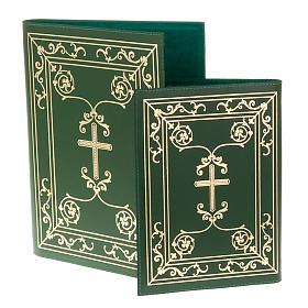 Carpeta portaritos de piel verde s1