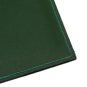 Carpeta portaritos de piel verde s3