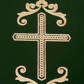 Cartella porta riti in pelle verde s2