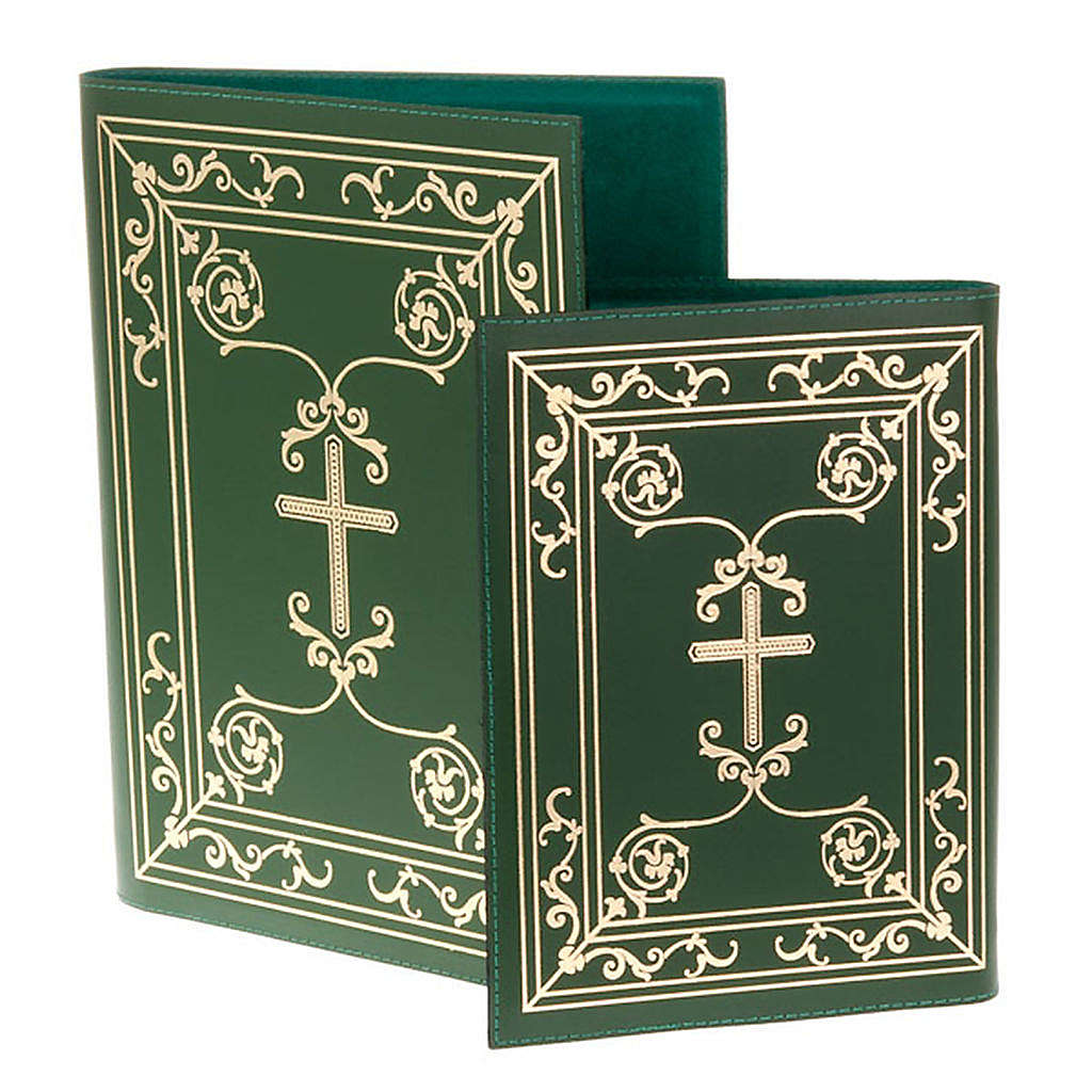 Folder for Sacred Rites in Green Leather 4