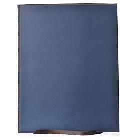 Couverture rites A4 croix imprimée bleu Bethléem s2