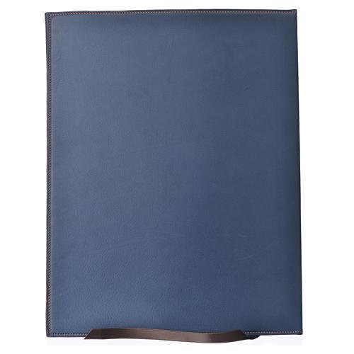 Couverture rites A4 croix imprimée bleu Bethléem 2
