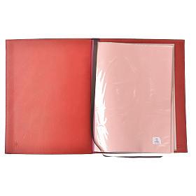 Couverture rites A4 croix imprimée rouge Bethléem s3