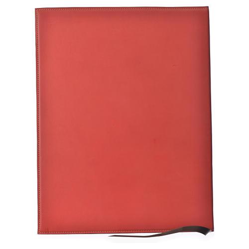 Couverture rites A4 croix imprimée rouge Bethléem 2