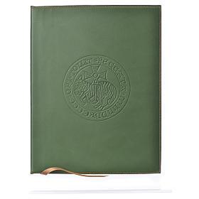 Funda para ritos A4 Cordero impreso verde Belén s1
