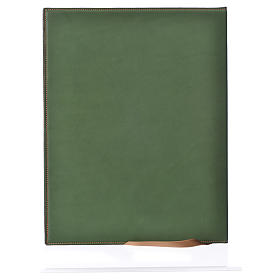 Funda para ritos A4 Cordero impreso verde Belén s2